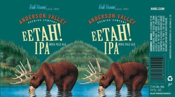 Review: Anderson Valley Bahl Hornin' Ee Tah! IPA