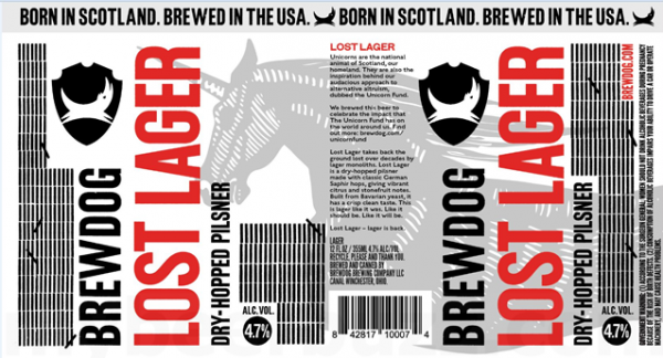 Review: BrewDog Lost Lager
