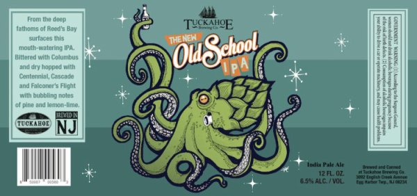Review :  Tuckahoe The New Old School IPA