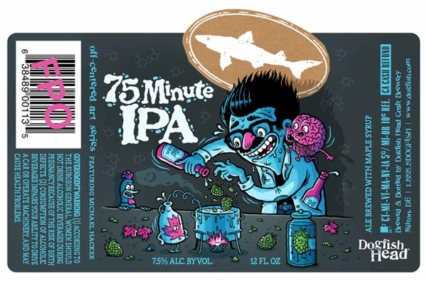Review :  Dogfish Head 75 Minute IPA