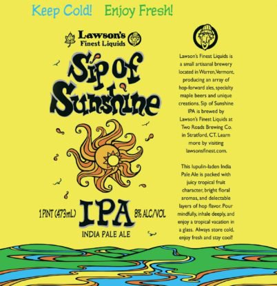 Review :  Lawson's Finest Sip of Sunshine IPA