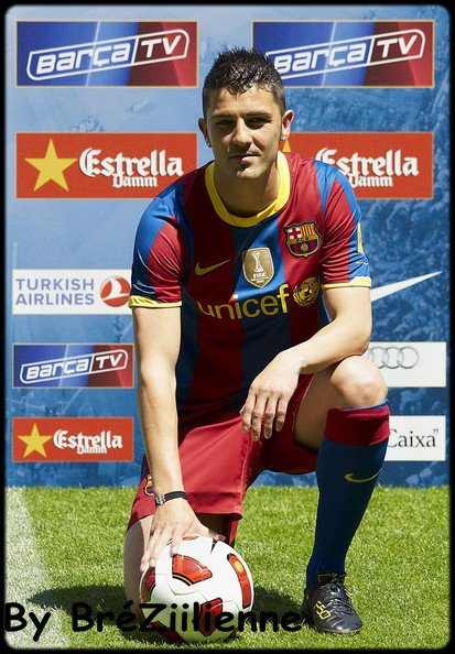 """David Villa"" Mon jOueur préfere ^^"