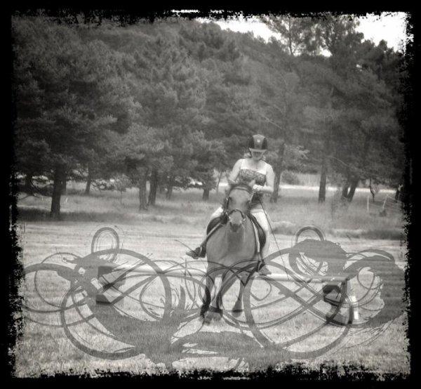 Parce que l'équitation, plus qu'une passion, ma raison <3