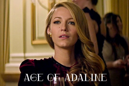 The Age of Adaline !! *O* <3 Beautiful movie.. #BlakeLively