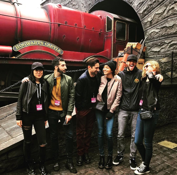 Mom in the Wizarding Wolrd *....* ❤❤❤❤ #EmilyVancamp #WizardingWorldhollywood