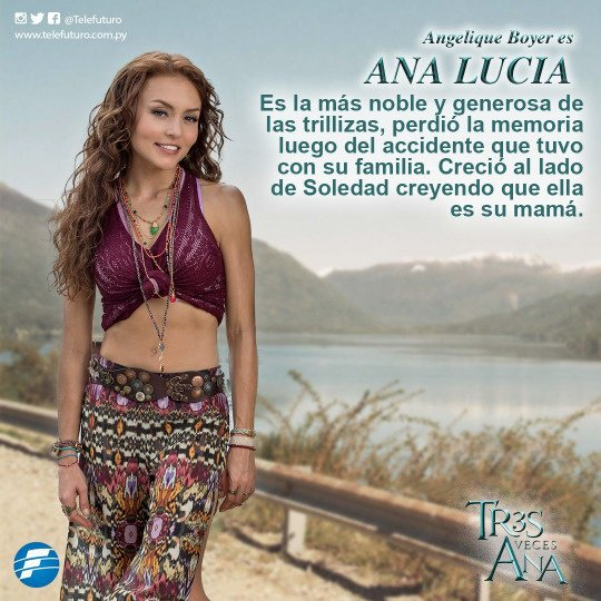 Tres Veces Ana *....* ❤❤❤❤ #AnaLucia #AnaLeticia #AnaLaura