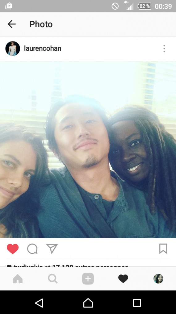 They are so beautiful ❤❤❤ #TWDCast