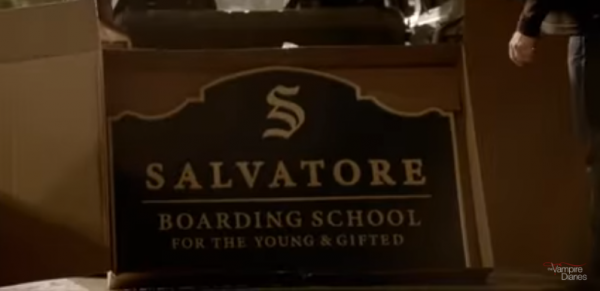 A school for the young and gifted ! *....* ❤❤❤ #SalvatoreBoardingSchool #Legacy