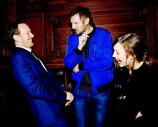 Only great actors ❤  #PatrickWilson #LiamNeeson #VeraFarmiga