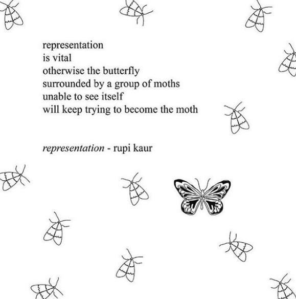 Rupi Kaur on Representation and Inclusivity ❤