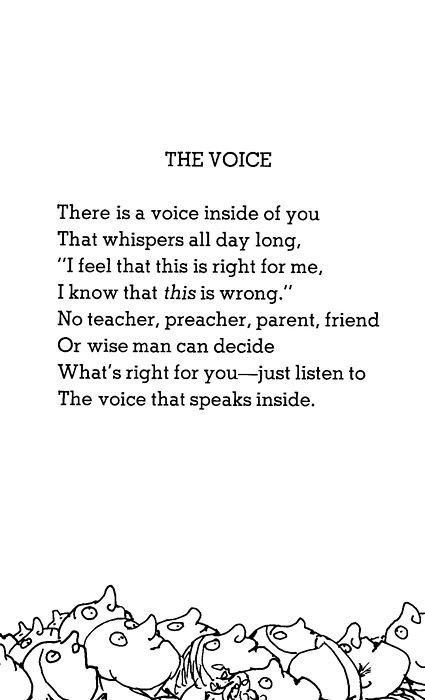 Your heart knows the way, the voice inside is the guide❤