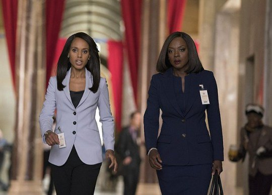 Watching HTGAWM and Scandal Crossover *O* ❤ #Annalivia #TwoBossLadies