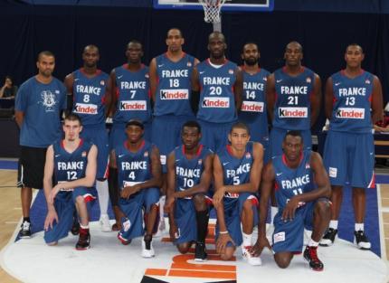 equipe de france de basket ball