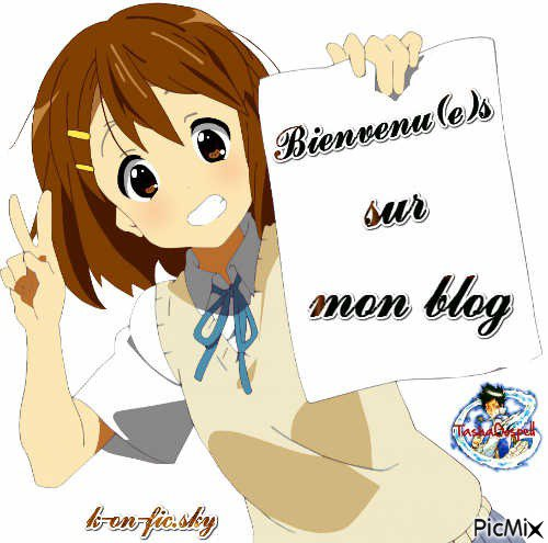 Bienvenu sur mon blog ♥