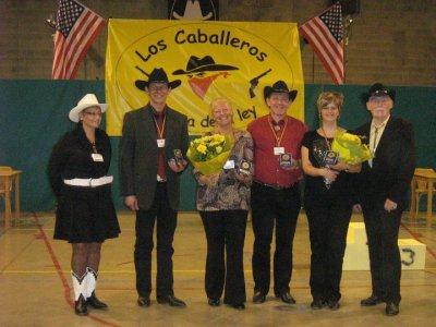 """Challenge des """"Los Caballeros"""" en septembre 2010. Les juges et les organisateurs."""