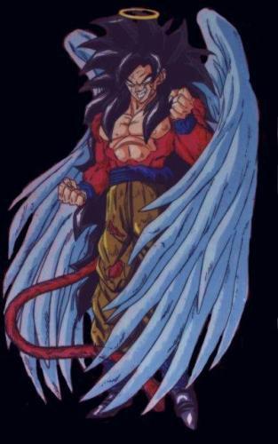 Goku ss4