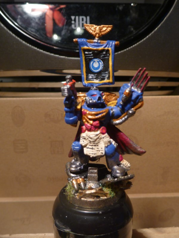 II/ Capitaine Space Marine Finis