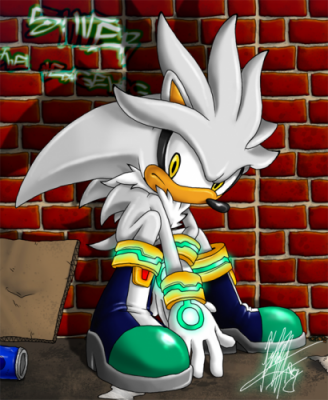 Présentation de Silver The Hedgehog