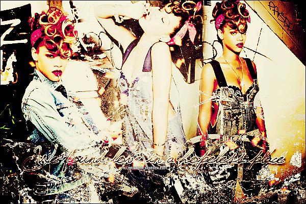 ♦ Bienvenue sur votre toute nouvelle source sur la sublime Robyn Rihanna Fenty ! Ici, tu pourras découvrir la belle Rihanna Fenty ainsi que la suivre grâce à des multiple supports, photos, vidéos..