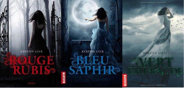 2014/70 - Série Rouge Rubis, Bleu saphir et Vert émeraude de Kristen Gier