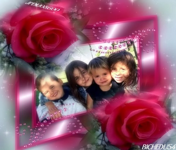 merci mon amie pour ces jolies kdo de mes enfants que j aime
