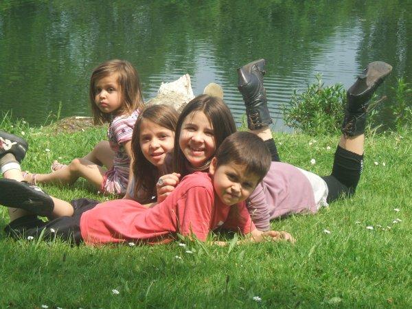 mes enfants je pense tres fort a vous ,vous me manquez