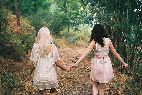 On a toujours une amie/ un ami sur qui compter  :)