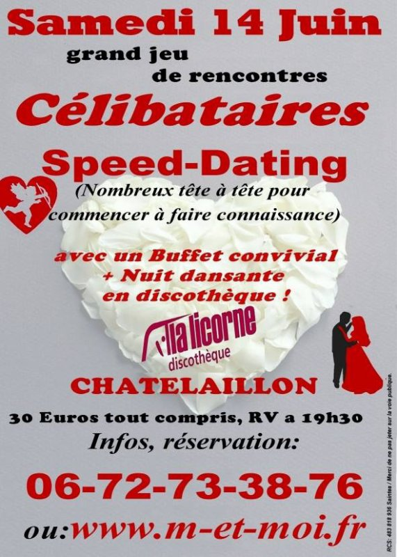 Grand SPEED DATING en Charente Maritime