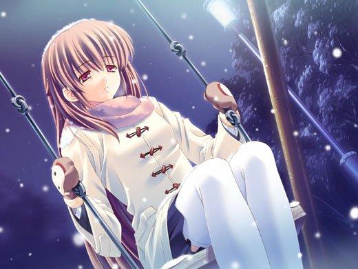FICTION 8 : Une enfant sous la neige... Une enfant sous la neige...