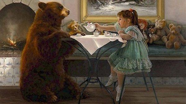 WELCOME CHEZ TEDDYBEARSDAY VOUS PRENDREZ BIEN UNE TASSE DE THES