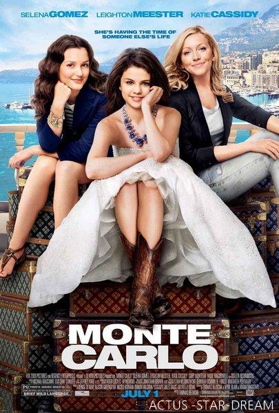 L'affiche du film Monte Carlo