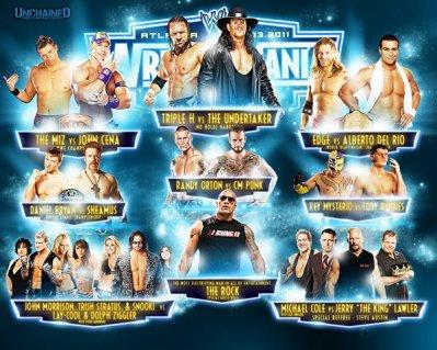 Et Voici Wrestlemania 27 !!!!!!!!!