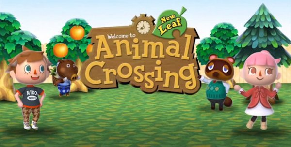 Je reviens avec Animal Crossing New Leaf en main!