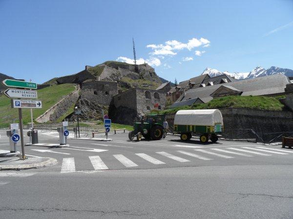 Tour de la France en Tracteur SFV 302  15° Jour  Briançon