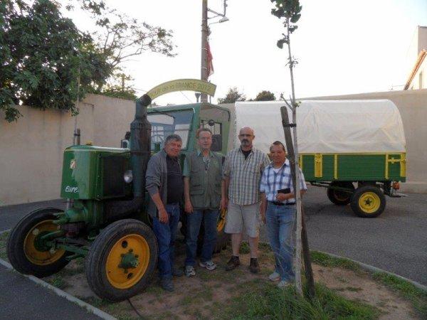 23° jour 23 mai 2012 Arrivée à Lespignan.