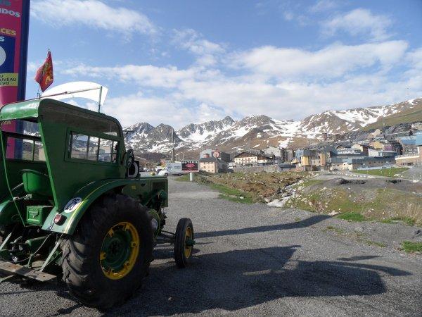 26 mai : Bourg Madame vers Saint Girons via le Puymorens et Andorre