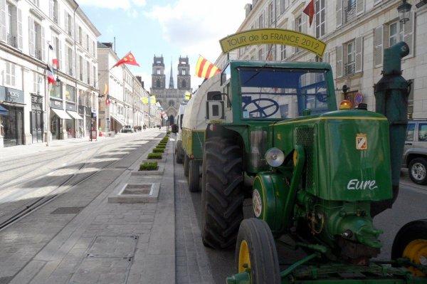 Vendredi 19 avril 2013, dans Orléans
