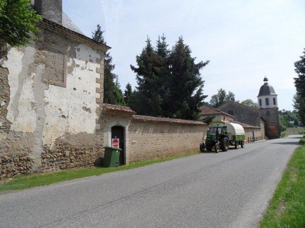 Le 28 mai 2012 : 28° étape du Tour de la France en tracteur