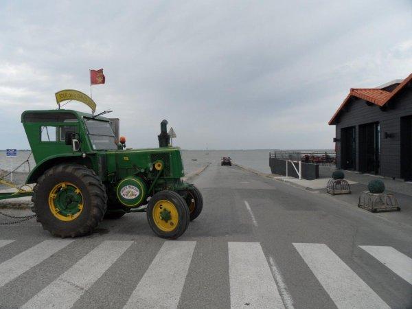 33° jour : Le 2 juin + de 4 000 Kms pour ce Tour de la France en tracteur SFV 302 de 1953