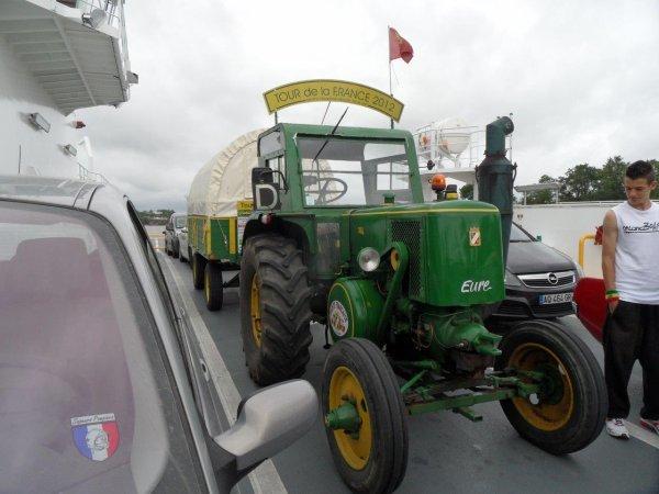 34° jour : Le dimanche 3 juin sur le bac du Pellerin pour traverser la Loire