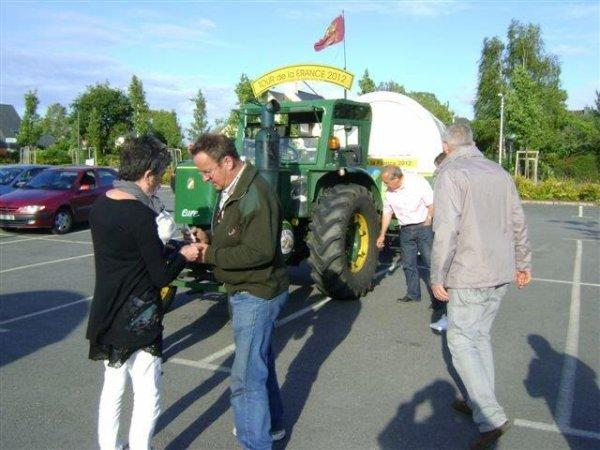 34° jour : Le dimanche 3 juin sur la route de Plescop