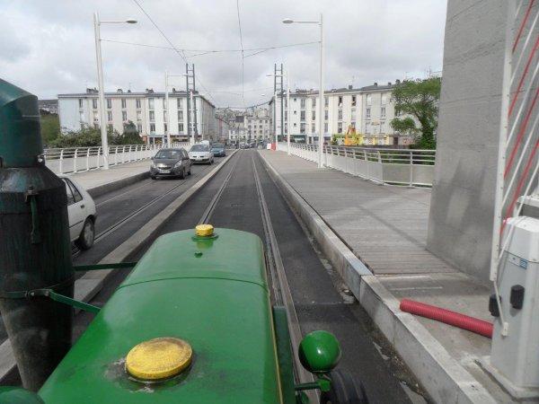 37° jour : Le 6 juin, au compteur déjà 4728 Kms parcourus, arrivée à Brest
