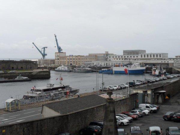 37° jour : Le 6 juin, au compteur déjà 4728 Kms parcourus, je suis à Brest