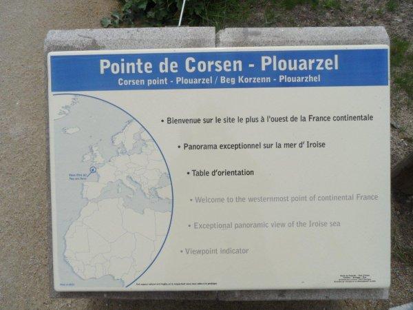 37° jour : Le 6 juin, Je me dirige vers la Pointe de Corsen