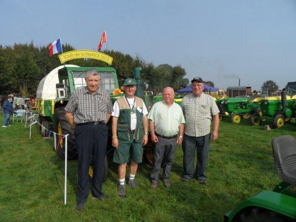 Le 6 et 7 septembre 2014, J'ai eu la chance d'être invité à la fête de la Neuville lès Dorengt