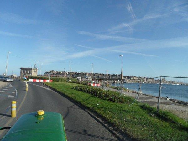 9 Juin 2012 sur la route de Saint Malo.