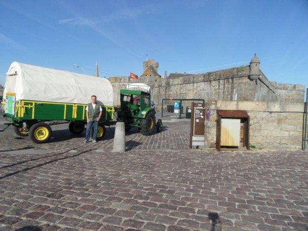 40° jour : Le 9 juin à Saint Malo.