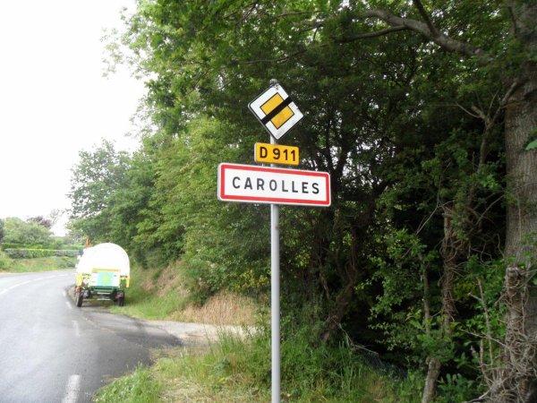40° jour : Le 9 juin 2012 remontée du Cotentin par l'Ouest.