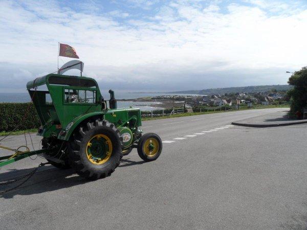 42° jour 11 juin sur les routes du Cotentin.