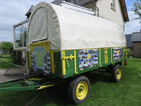 Jean-Yves Brochard le Dimanche 15 mai 2015 Exposition de véhicules anciens à Saint Pierre des Ifs